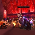 Chillin before Kael'thas